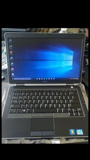 DELL i7 Laptop Windows 10 Microsoft Office 2013 pro 500gb hard drive 8gb ram for Sale in Garfield, NJ