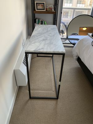 Crate&Barrel Marble Console/Entry Table for Sale in San Francisco, CA