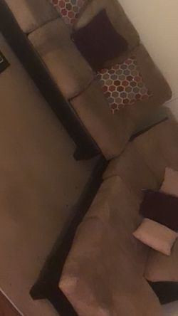 Suede Sectional for Sale in Chapel Hill,  NC