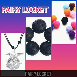 Angel wing fairy locket and leather cord brand new in package for Sale in Philadelphia, PA