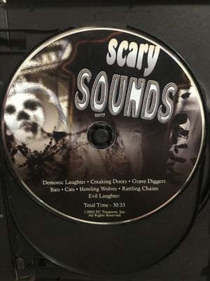 SCARY SOUNDS CD- 2007- PC TREASURES-Preowned- Markings on cd But Plays Great. I have it in a case but its not the one in the pictures. Just added tho for Sale in Murfreesboro, TN