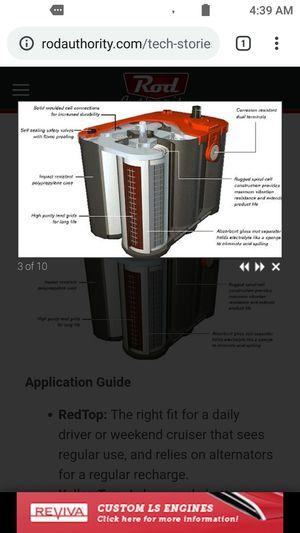 Optima battery for Sale in Dallas, TX