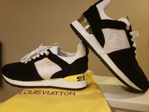 BRAND NEW AUTHENTIC LOUIS VUITTON RUN AWAY SNEAKERS! for Sale in Tacoma, WA