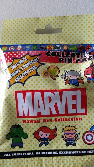 Disney marvel mystery pack pins new 10$ for Sale in Montebello, CA
