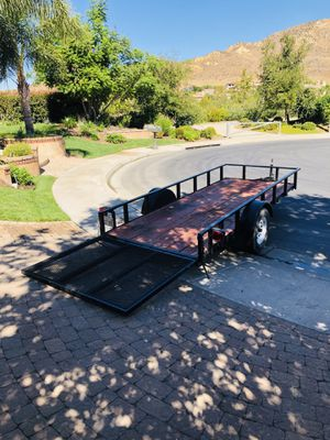 Utility trailer 2016 for Sale in Chatsworth, CA