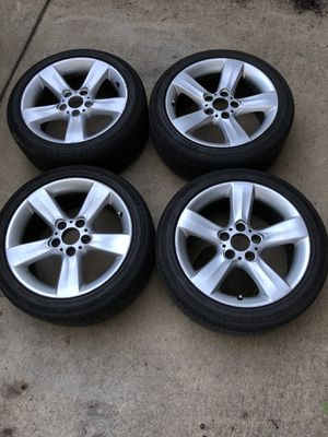 "17"" BMW WHEELS RIMS WITH TIRES STYLE 119 5x120 for Sale in Portland, OR"