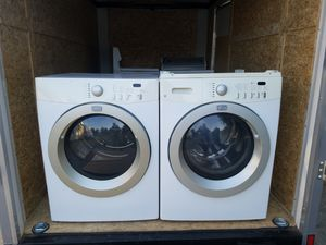 Fridgadair affinities washer electric dryer for Sale in Dinuba, CA