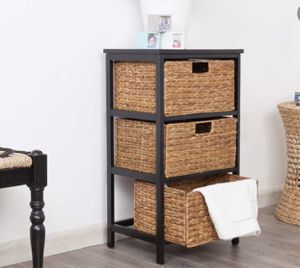 Bedroom Clothes Storage Container With Drawers Rustic Bathroom Toiletries Towels Organization for Sale in Reno, NV