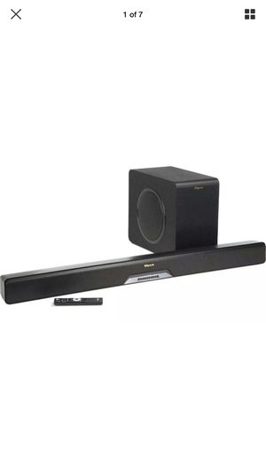 $799 KLIPSCH RSB-14 Sound Bar Wireless Subwoofer Play Fi for Sale in Tigard, OR