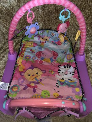 Fisher Price Kick and Lay Piano Set for Sale in Bowie, MD