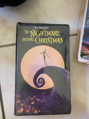 The Nightmare Before Christmas VHS for Sale in Miami, FL