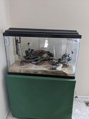 45 gallon aquarium w/canister filter for Sale in New Baltimore, MI