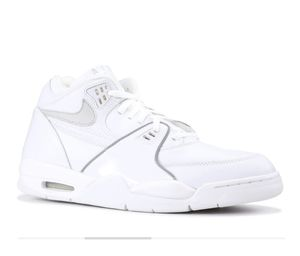 Nike Air Flight 89 - White/Silver - Sz. 9.5US (USED) for Sale in Hayward, CA