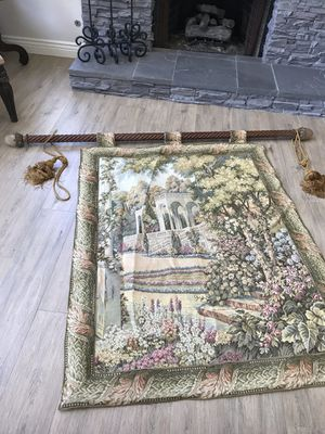Tapestry and rod for Sale in Agoura Hills, CA