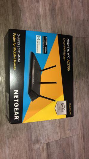 Netgear Smart Wifi Router AC1750 for Sale in Turlock, CA