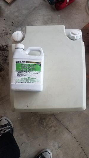 Porta Potti with cleaner for Sale in Temple City, CA