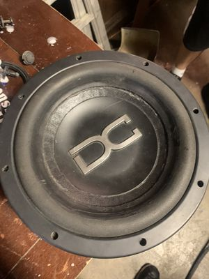 """Dc 10"""" subwoofer pro audio for Sale in Pasadena, TX"""