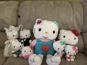 8 pc Hello Kitty for Sale in Kyle, TX
