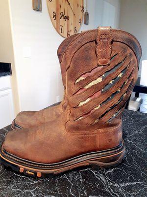 Cody James Men's Composite Toe Flag Work Boots for Sale in Gilbert, AZ