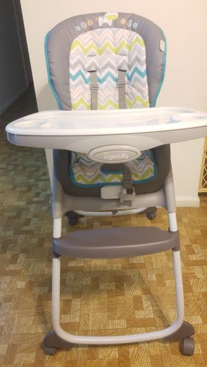 Ingenuity Trio 3-in-1 High Chair – Ridgedale - High Chair, Toddler Chair, and Booster for Sale in Wayne, PA