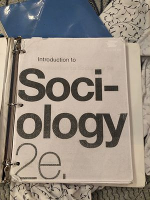 Introduction to sociology 2e for Sale in Phillips Ranch, CA