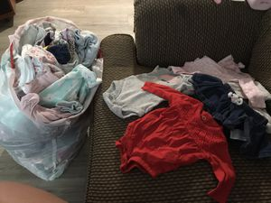 Full bag of Newborn girl clothes for Sale in Phoenix, AZ
