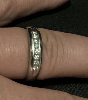 Men's diamond wedding ring-10k white gold for Sale in Burlington, NC