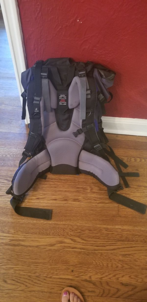 Hiking Backpack with daypack and transport case
