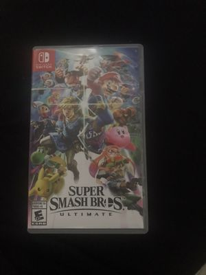 Super smash for Nintendo switch for Sale in Miami Gardens, FL