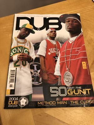 DUB Magazine Vol.15 2004. 50 CENT for Sale in Frankfort, IL