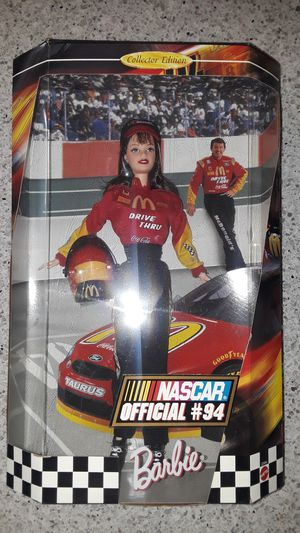 Nascar official #94 barbie for Sale in San Carlos, CA