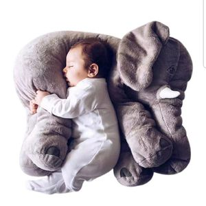 Giant stuffed elephant plush pillow 25 inch brand new in bag gift idea kids decor playtime toy for Sale in Covina, CA
