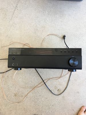 Insignia 200w Bluetooth stereo amp with 4 speaker connections for Sale in Traverse City, MI
