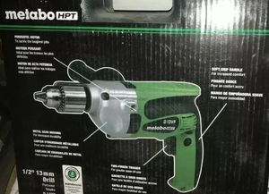 """Metabo HPT Hitachi 1/2"""" 13mm 9 AMP Corded Power Drill D13VF NEW SEALED for Sale in Miami, FL"""