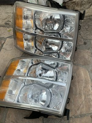 Headlights for Silverado 2007-13 for Sale in National City, CA