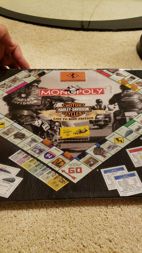 Monopoly, Harley Davidson Edition. Board game