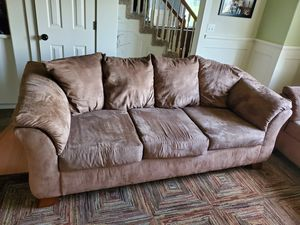 Set of 2 Ashley furniture couches for Sale in Beavercreek, OR