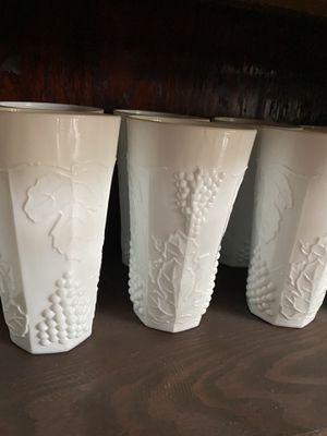 Milk Glasses - 15 glasses for Sale in Washington, IL