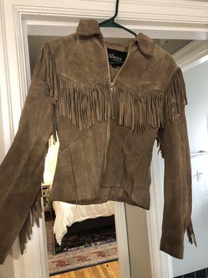 Vintage Wilsons suede fringe jacket for Sale in Portland, OR