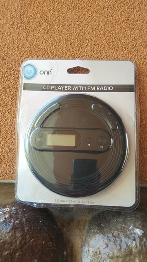 Onn CD player with FM radio for Sale in Oceanside, CA