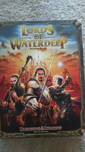 Board game - lords of waterdeep for Sale in Bellevue, WA