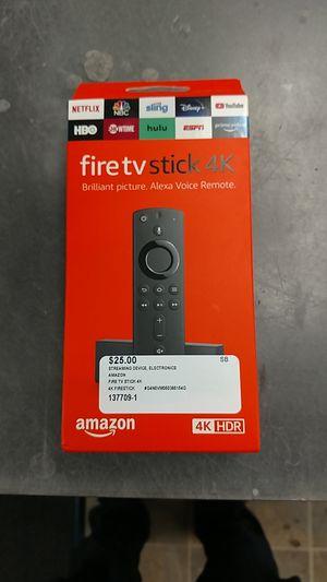 Amazon Fire TV Stick 4K for Sale in Chesapeake, VA