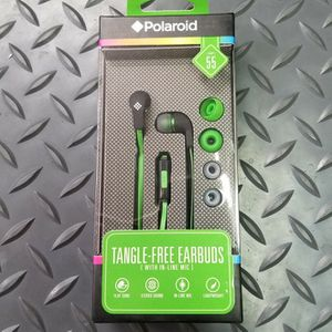Firm Price! Brand New in a Box Polaroid Tangle-Free Earbuds, Located in North Park for Pick Up or Shipping Only! for Sale in San Diego, CA