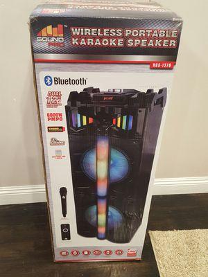 New Wireless Portable Karaoke Speaker for Sale in Los Angeles, CA