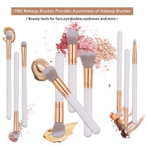 Makeup Brush Set Synthetic Cosmetics Professional Wooden Handle Brush, Flat Head, Blush, Flame, Concealer, Eye Shadow, Nose, Lip Brush Makeup Brush K for Sale in Plainfield, NJ