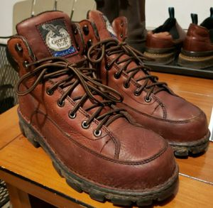 Mens Georgian boot work Hunt Fishing boots wore 4 times for Sale in Camas, WA