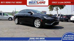 2015 Chrysler 200 for Sale in Fresno, CA
