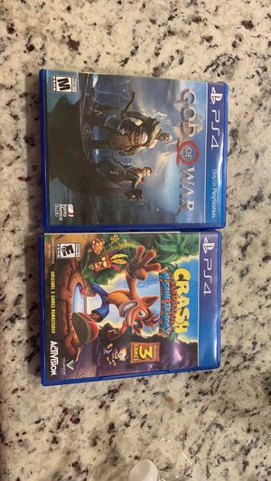 PS4 Games TRADE FOR SWITCH GAMES for Sale in San Antonio, TX
