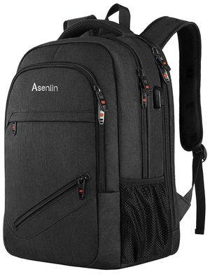 Laptop Backpack,Business Travel Slim Durable Laptops Backpack with USB Charging Port,Water Resistant College School Computer Bag for Women & Men Fits for Sale in Edison, NJ