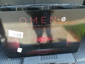 """27 """"Hp Omen Monitor, open box never used. for Sale in Mebane, NC"""